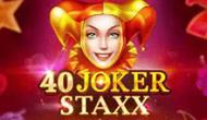 Игровой автомат 40 Joker Staxx: 40 Lines